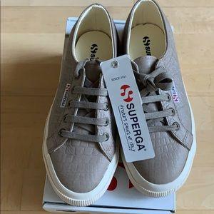 Superga 2750 Embossed Crocco sneakers